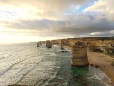 Renting a car and driving down the Great Ocean Road is a must when in Melbourne #12apostles by sheri13 http://ift.tt/1ijk11S