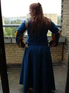 First wool dress I ever made :)