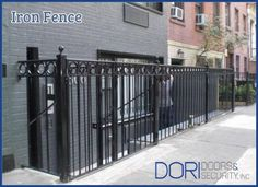 Iron Fence installed in  Chelsea, New York City by Dori Doors! Contact Dori Doors For all your fences & railings installation / repair services @ (212) 960-8244