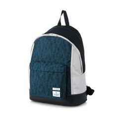 sporty korean backpack