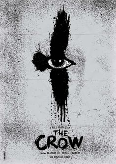 The Crow brings me back vague memories... My dad was amazed by this movie.