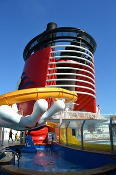 Disney Cruise Line Activities: Mickey slide, [ BookingEntertainment.com ] #cruise