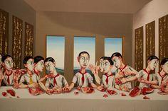The last supper, 2001 Zeng Fanzhi, MAM de Paris © ppc