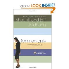 The bestselling author of For Women Onlyteams with her husband to offer men the key to unlocking the mysterious ways of women. Through Shaunti and Jeff Feldhahn 's national scientific survey and hundreds of interviews, For Men Only reveals what you can do today to improve your relationship.