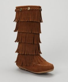Look at this Shoes of Soul Tan Tiered Fringe Boot on today! Little Girl Shoes, Little Girl Outfits, Girls Shoes, Toddler Outfits, Hippie Boots, Nina Shoes, Fringe Boots, Kids Boots, Dream Shoes