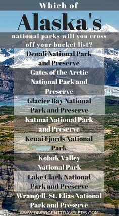 Alaska National Parks: The Fabulous 8 Alaska National Parks, Glacier Bay National Park, Most Visited National Parks, Alaska Travel, Travel Usa, Alaska Trip, Adventure Travel, Adventure Couple, Fishing Adventure