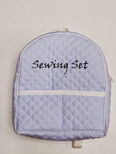 Sewing Set: TUTORIAL MOCHILA INFANTIL DE PIQUÉ