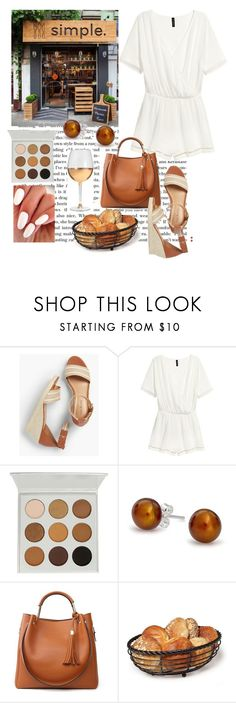 """brunch"" by skylovessave ❤ liked on Polyvore featuring Talbots, Bling Jewelry and Marc Blackwell"