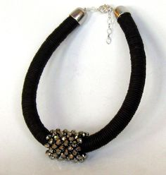 'bling ' african style choker