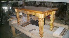 Zdjęcie ten stolik w wosku i politurze wykonałem w Prszkowie 3- lata temu o trwałości 300 lat.