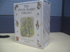 Brand new Beatrix Potter set of Peter rabbit books - ebay - sharing the love of great fun childrens stories