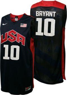 NEW ARRIVAL  Kobe Bryant 2012 Olympics Team USA Authentic Nike Jerseys  USA   London2012 72db404369c9