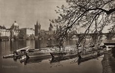 Karel Plicka shot fine monochrome photographs of Prague from the and documented a dark and mysterious Prague, a gothic and baroque Praha which. Prague Czech, Old World, Monochrome, Gothic, Photography, Painting, Twitter, Art, Art Background