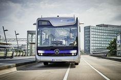 De Zelfrijdende Mercedes Bus in Actie