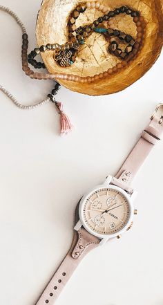 The Original Boyfriend Watch and our Fossil x ME to WE beaded bracelets are a match made in heaven. via @shopsweetthings