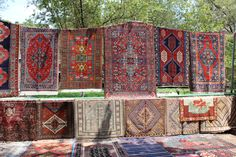 Of course they were plenty of oriental rugs as well, though I consider flea market the worst place to buy them. Still sometimes you can find some interesting pieces even here.