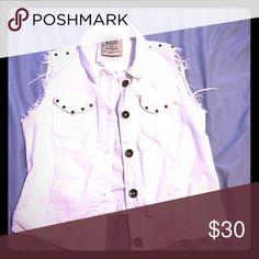 White jean vest White jean vest from Zara Zara Other