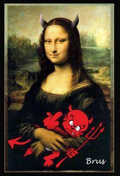 Devil Mona with Brat
