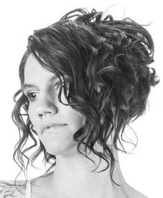 inverted bob curly - Google Search