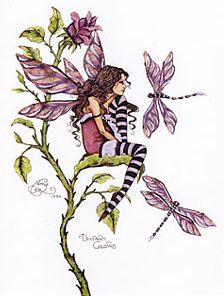 Dragonfly Faerie (Amy Brown)
