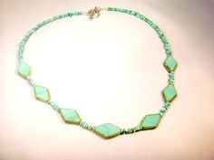 Love this turquoise necklace!  So pretty!  from CKDesignsUS.etsy.com