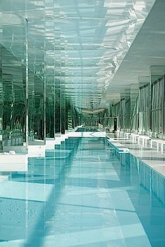 32 Swim Spa Indoor Fantastic Ideas - Take into consideration you do not always need a big room to have your own swim spa indoor. Piscina Spa, Piscina Hotel, Indoor Swimming Pools, Swimming Pool Designs, Spa Design, Home Design, Design Ideas, Spas, Spa Luxe