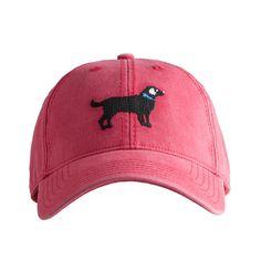 Black Lab Needlepoint Hat, $30