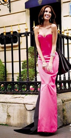 #pink dress  pink dresses #2dayslook #new #dress #nice  www.2dayslook.com