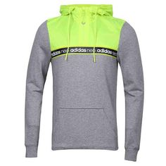 ADIDAS NEO HOODIE WITH ADIDAS LOGO LINE AY5813 GREY Logo Line, Adidas Neo, Athletic, Hoodies, Grey, Jackets, Fashion, Gray, Down Jackets