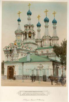 F. Daziaro, Moscou et St Petersbourg - Moscou, Eglise de la Nativité de la Ste Vierge     #Russie_Russia