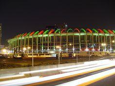 Louis Cardinals: Old Busch Stadium. Another multi-purpose stadium. St Louis Baseball, St Louis Cardinals Baseball, Braves Baseball, Stl Cardinals, Mlb Stadiums, Busch Stadium, St Louis Mo, Kayaking, Canoeing