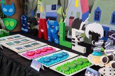 PJ Masks Birthday Party   http://CatchMyParty.com