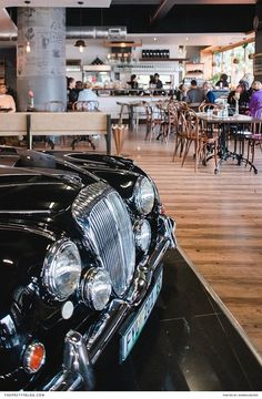 All-Day Breakfast & Vintage Cars, Dapper Coffee Has It All Brew Bar, All Restaurants, Book Cafe, Shop Around, Where To Go, Hanging Out, Dapper, Vintage Cars, Places To Go