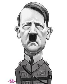 Adolf Hitler – Caricatura