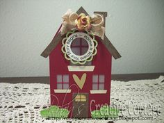 Created by Robin - Stampin' Around Spring stamp set and Lacy Doily metal dies.