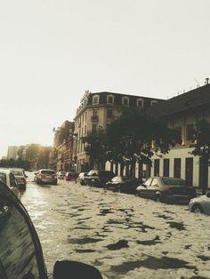 Icy rain // Bucharest, Romania