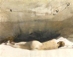 Andrew Wyeth (1917 — 2009) Helga, 1971-85