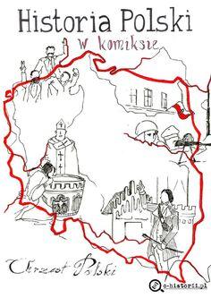 "Cover of ""Historia Polski w komiksie, nr 2 ""Czcibor"""" Poland Culture, Learn Polish, Teacher Morale, Poland History, Polish Language, I School, Coloring Pages, Cool Pictures, Author"