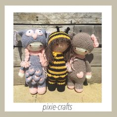 Pixie-Crafts • 3 amigos preparing for their journey together ...