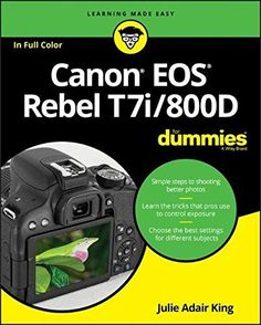 View on Amazon ... http://darrenblogs.com/us/2017/11/27/canon-eos-rebel-t7i-800d-for-dummies-for-dummies-computer-tech/