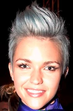 Faux hawk. Dang it @Rachel Anderson . I saw you pin some of these and now I'm obsessed.