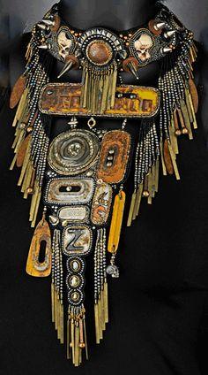 Neckpieces - Bead Embroidery - Sherry Serafini