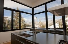 A Glassy Ski Chalet at Squaw Valley, Born on New Year's Day - House of the Day - Curbed National