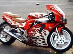 Up for sale is my Custom 1995 Suzuki GSXR 750 Sport Bike. Aftermarket Exhaust, Lots of Chrome, Frame is Polished... Custom Paint (Candy with Gold Glaze), Chrome Spike kit, bike is lowered as well. Plus it comes with a 250 Watts Sound System with Am/Fm radio with USB and SD Card Options. This bike has been garaged and taken care of... A must see! To much to list.   Asking $4000.00 obo. Email or call me for more information.. $4,000.00 USD