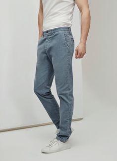Pantalón de pana elástico