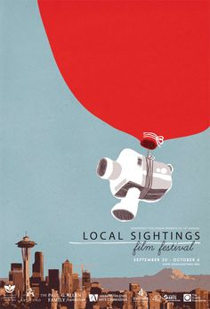 Local Sightings Film Festival 2011 at the Northwest Film Forum: Pique-niques available from Cafe Presse and they have a cool poster too.