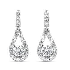 Eugene Biro Diamond Earrings Diamonds Bridal Bride Jcklasvegas
