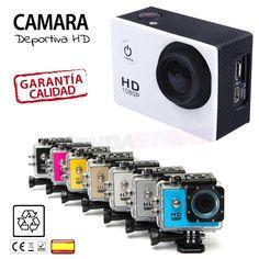 Camara deportiva similar SJ4000 y Gopro comprar en España. #camaradeportiva #gadgets