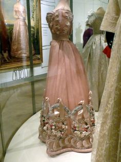Russian Court dress, ca. 1820.  I wish people still wore this kind of stuff.