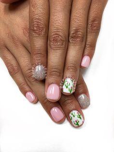 Phoenix Arizona. Born and raised. Cactus nails. #PreciousPhan